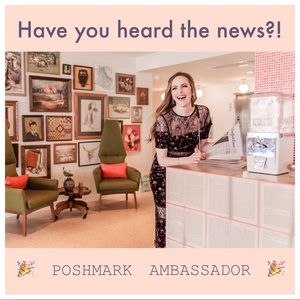 Other - HAVE YOU HEARD THE NEWS?!🎉I'm a Posh Ambassador🎉